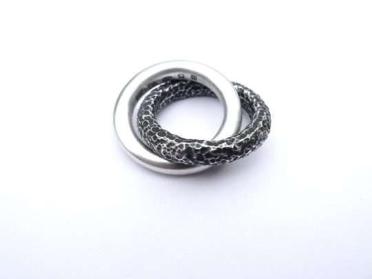 Tawny Phillips Entwined Wedding Bands