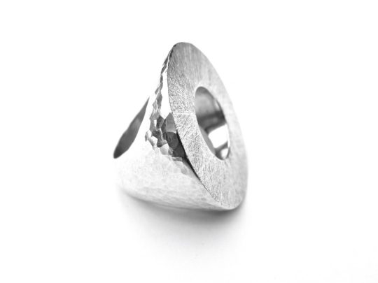 Tawny Phillips Large Silver Polo Ring