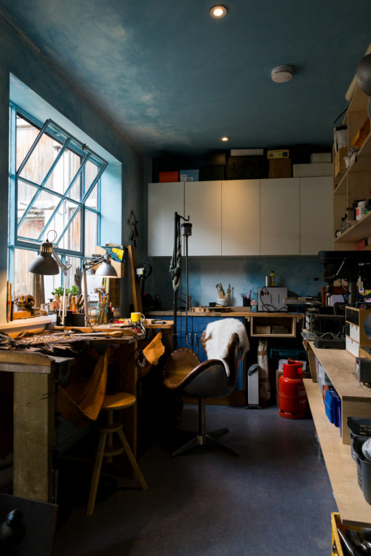 Tawny Phillips' Bermondsey London Studio